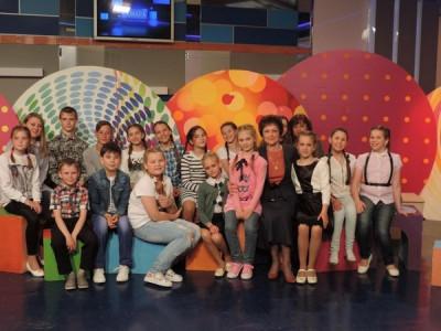 Встреча на областной телестудии